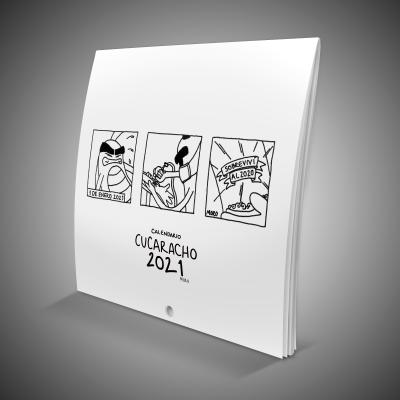 Calendario de pared Cucaracho 2021